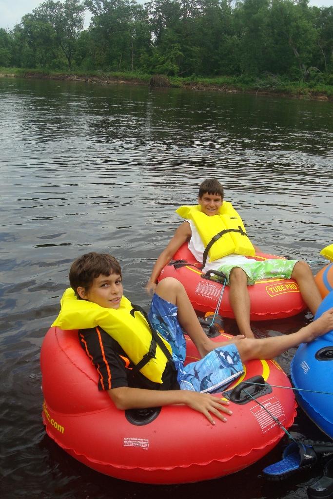 Wisconsin Dells River Tube Fun